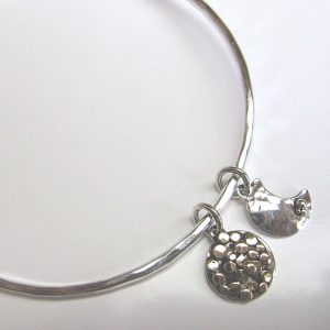HJ_BESPOKE_Moon and Stars Bangle