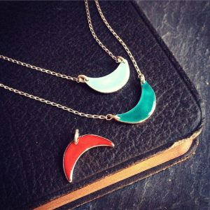 HJ_BESPOKE_Enamel Cresent Moon Pendants