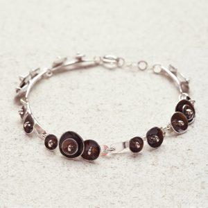 Bracelet-Blossom Pod_Chocolate