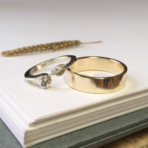 His & Hers Wedding Rings